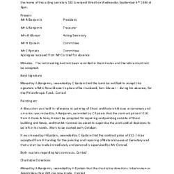 Meeting Minutes Transcription, 6 September 1939