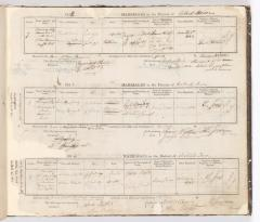 Marriage Register September 1842 to September 1844