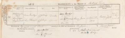Aaron Mendoza & Ann Stewart marriage record