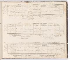 Marriage Register January 1856 to January 1857