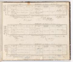 Marriage Register December 1847 to November 1849