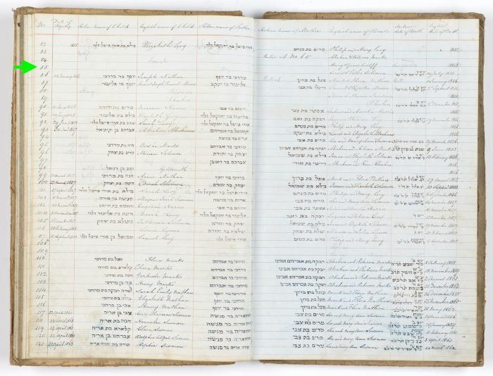 Louis Solomon birth record