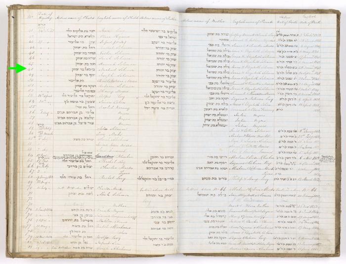 Michael Solomon birth record