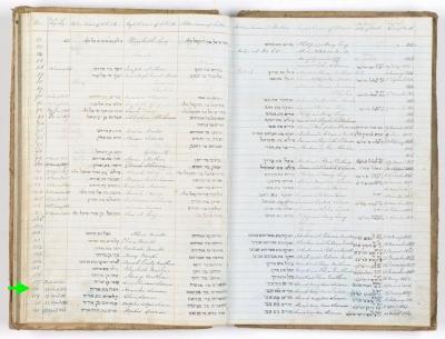 Hannchen Susman birth record