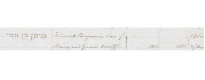 Frederick Benjamin Wolff death record