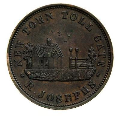 Reuben Josephs, Toll Gate Operator, Hobart, Tasmania (1790-1862)