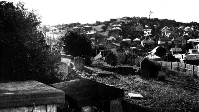 Photograph - Jewish Cemetery, Hobart