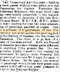 The Tasmanian Art Gallery