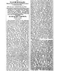 Hobart Town: July 8, 1845