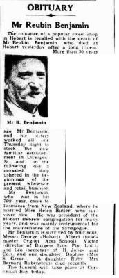 Mr. Reubin Benjamin