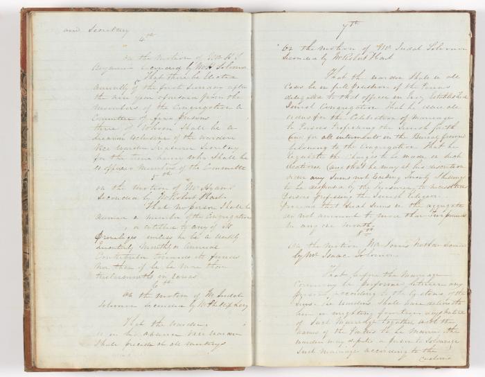 Meeting Minute Original Page, December 26 1841