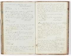 Meeting Minute Original Page, 14 January 1850 - 27 June 1850