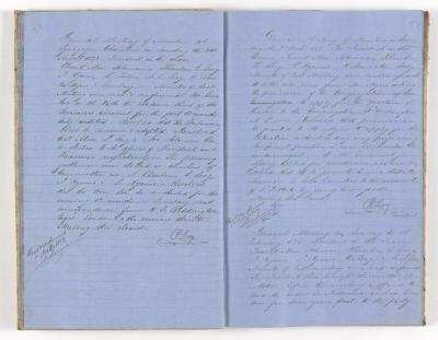 Meeting Minute Original Page, 24 August 1873 - 1 February 1874