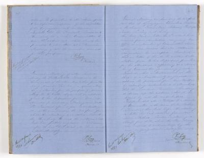 Meeting Minute Original Page, 31 January 1871 - 16 April 1871
